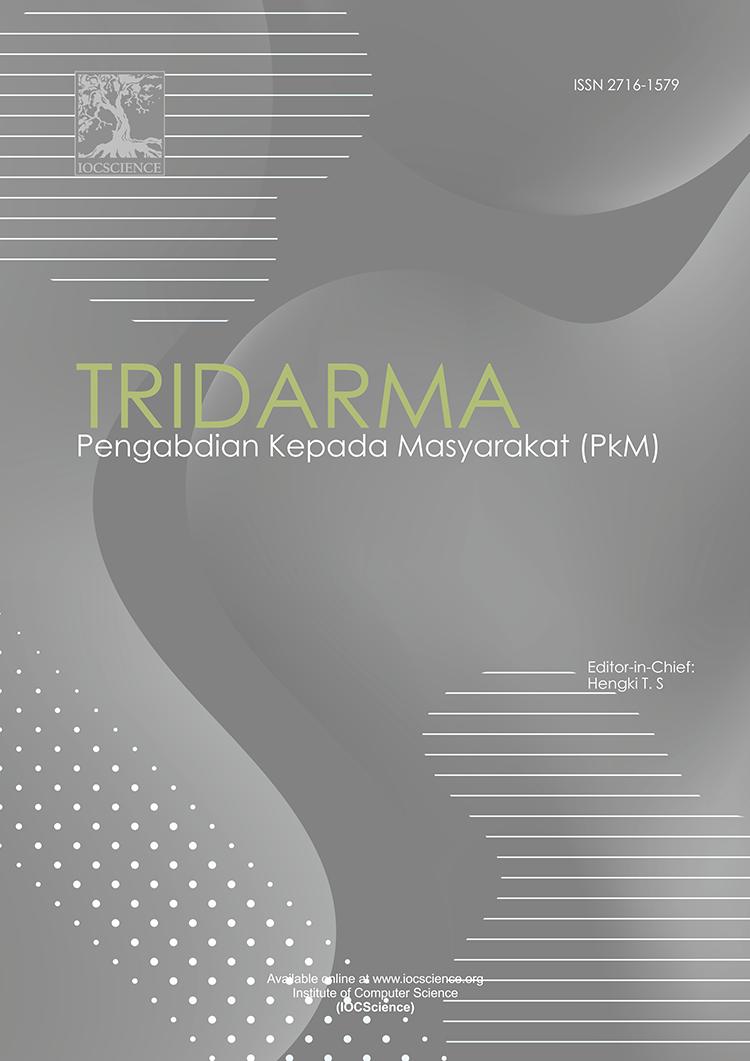View Vol. 2 No. 2, Nopembe (2019): TRIDARMA: Pengabdian Kepada Masyarakat (PkM)